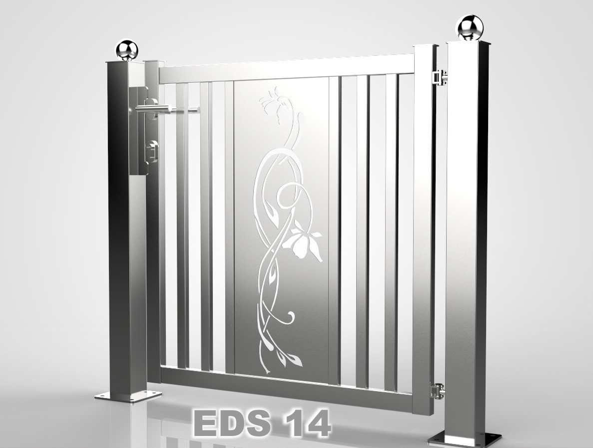 Edelstahl Pforte, Tür, Zaun,Gartentor, Eisentor,Tor! | EBay